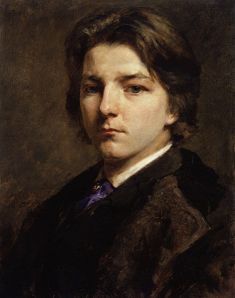 Frank Holl, 'Self Portrait' (1863) Oil on Canvas.