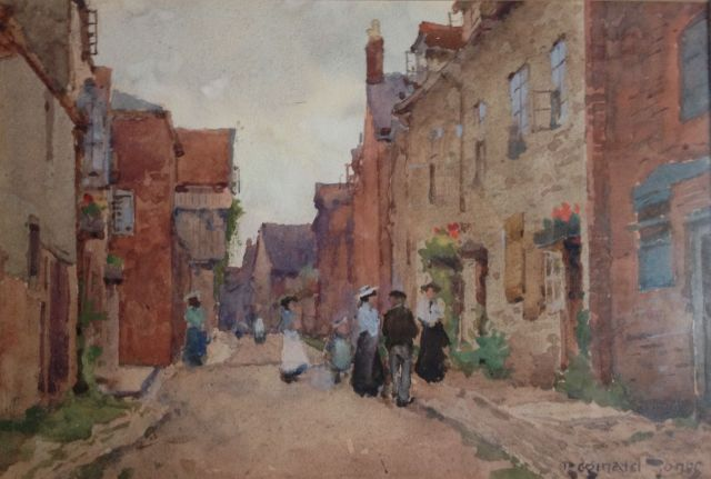 Reginald Jones, 'Untitled,' (c1900) Watercolour on paper.