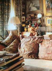 The earlier incarnation. Andrew McIntosh Patrick's 1998 flat. Credit: World of Interior