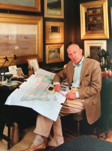 Andrew McIntosh Patrick in his office. Credit: Fine Arts Society